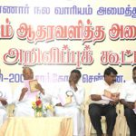 Co-convener with Bishops and other leaders at the Welfare Board Convention- Chennai 28.10.2009